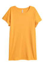 Long T-shirt - Yellow - Ladies | H&M IE 2