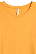 Long T-shirt - Yellow - Ladies | H&M IE 3