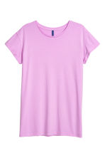 T-shirt lunga - Viola - DONNA | H&M IT 1