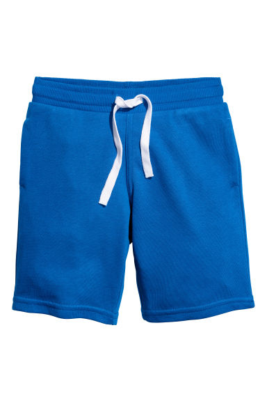 Sweatshirt shorts - Bright blue - Kids | H&M 1