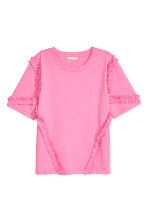 Wide top - Pink - Ladies | H&M CN 2