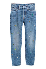 Blu denim/strass