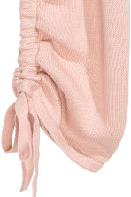 Jumper with a drawstring - Powder pink - Ladies | H&M CN 3