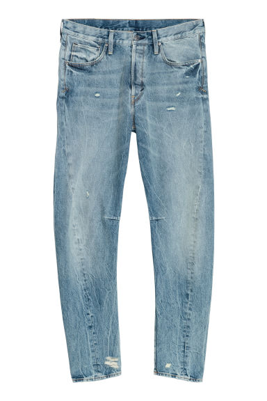 Sculptured Jeans - 浅牛仔蓝 -  | H&M CN