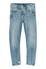 Sculptured Jeans - Light denim blue -  | H&M CN 3