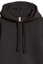 Scuba hooded top - Black - Ladies | H&M CN 2