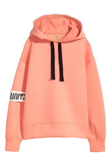 Scuba hooded top - Coral - Ladies | H&M 1