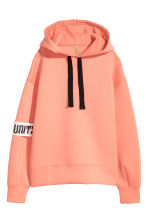 Scuba hooded top - Coral - Ladies | H&M CN 1