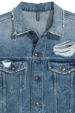 Denim jacket - Denim blue/New York - Men | H&M GB 3