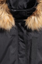 Padded parka - Black - Ladies | H&M GB 3