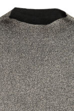 Wide jumper - Black/Glitter - Ladies | H&M IE 3