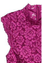 Lace top - Magenta - Ladies | H&M 3