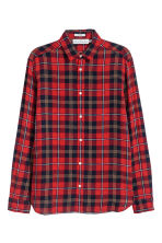 Camicia Regular fit a quadri - Rosso/quadri - UOMO | H&M IT 2
