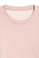 Sweater met glitters - Roze/glitters - DAMES | H&M BE 3
