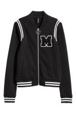 Baseball jacket - Black - Ladies | H&M 1