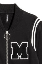 Baseball jacket - Black - Ladies | H&M 2