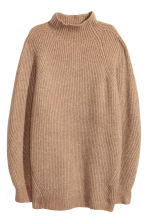 Knit Sweater - Camel - Ladies | H&M CA