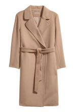 H&M+ Wool-blend coat - Camel - Ladies | H&M GB 2