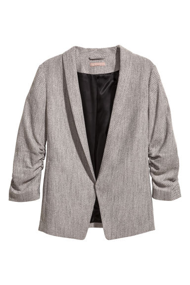 Jacket with a shawl collar Model