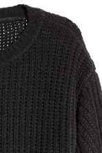 H&M+ Ribbed jumper - Black - Ladies | H&M CN 3