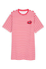 T-shirt dress - Red/White striped - Ladies | H&M 2