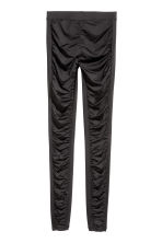 Gathered leggings - Black - Ladies | H&M 2