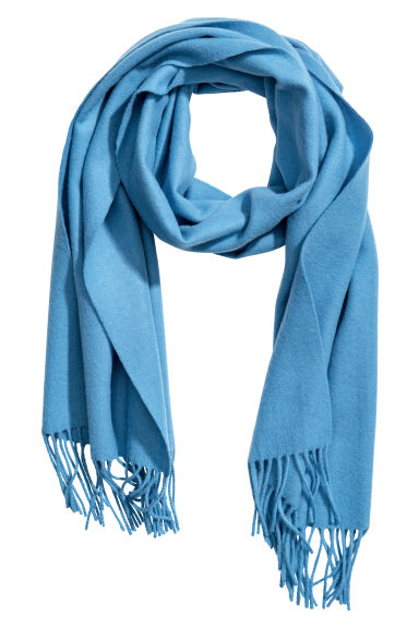 Wool scarf - Light blue - Ladies | H&M
