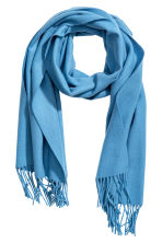 Wool scarf - Light blue - Ladies | H&M IE 1