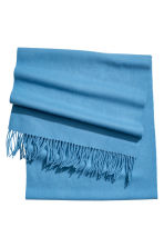 Wool scarf - Light blue - Ladies | H&M IE 2