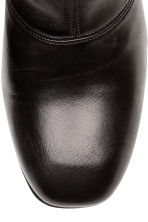 Leather ankle boots - Black - Ladies | H&M CN 2