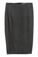 Pencil skirt - Dark grey - Ladies | H&M CN 2