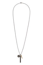Necklace with pendants - Silver-coloured - Men | H&M 1