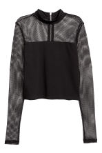 Jersey top - Black - Ladies | H&M IE 2