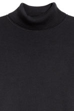 Cotton-blend polo-neck jumper - Dark blue - Men | H&M 3