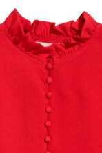 Frilled blouse - Red - Ladies | H&M 3