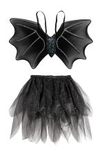 Fancy dress set - Black/Glittery -  | H&M 2