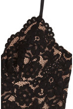 Lace top - Black - Ladies | H&M 4