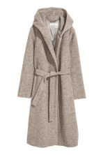 Cappotto in misto lana - Beige mélange - DONNA | H&M IT 2