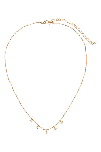 Necklace with pendants - Gold-coloured - Ladies | H&M CN 1