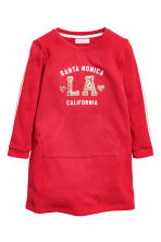 Robe en molleton - Rouge - ENFANT | H&M FR 2