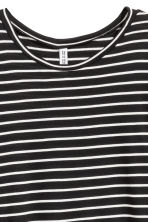 T-shirt dress - Black/White striped - Ladies | H&M 2