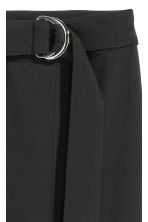 Ankle-length trousers - Black - Ladies | H&M 3