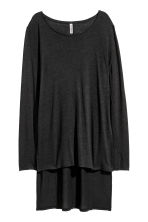 Long top - Black - Ladies | H&M 2