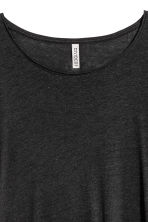 Long top - Black -  | H&M 3