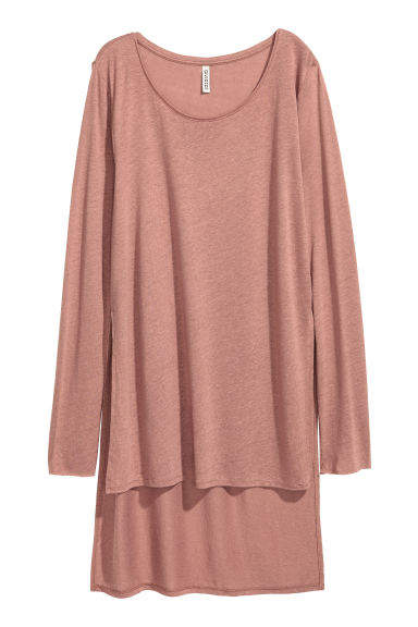 Top long - Rose vintage - FEMME | H&M BE