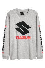 Grey marl/Stadium