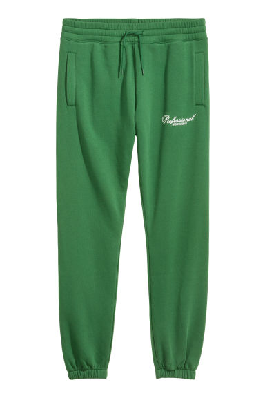 Pantaloni in felpa - Verde - UOMO | H&M IT
