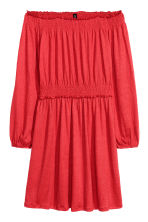 Off-the-shoulder Dress - Red - Ladies | H&M CA 2
