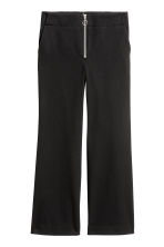Kickflare trousers - Black - Ladies | H&M CN 2