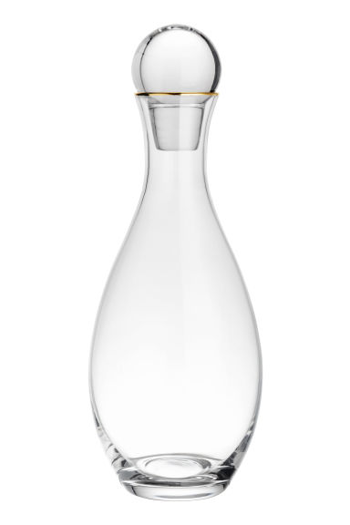 Clear glass carafe - Clear glass - Home All | H&M CN 1